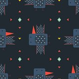 Birds seamless pattern