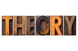 theory word typography