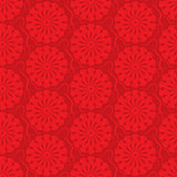 Vector red seamless background. ornamental pattern