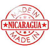 Made in Nicaragua red seal