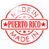 Made in Puerto Rico red seal