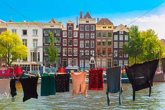 Amsterdam canal, Netherlands, Netherlands