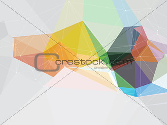 Abstract poly design