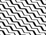 Design seamless monochrome zigzag pattern