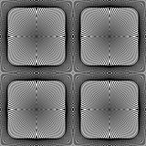 Design seamless square geometric pattern
