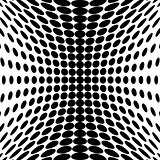 Design monochrome dots background