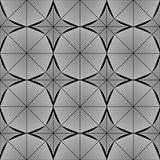Design seamless monochrome octagon pattern
