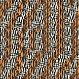 Striped patterned texture