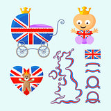 English Royal Baby Set