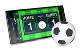 soccer and new communication technology