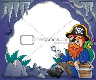 Sitting pirate theme image 4