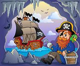 Sitting pirate theme image 5