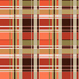 Tartan seamless texture mainly in brown hues