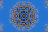 kaleidoscope background pattern