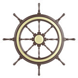 Illustration ship wheel