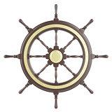 Illustration ship wheel
