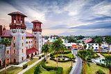 St. Augustine, Florida Courtyard