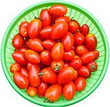 Fresh rosa tomatoes.