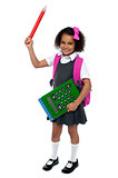 I am ready for school, are you?