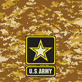 Light brown Army camouflage background