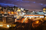 Edinburgh Castle and Royal Mile at Night