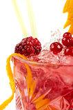 Berries cocktail