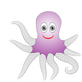 Cheerful Octopus