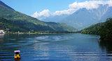 Liyu Lake in Taiwan.