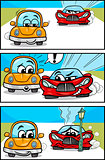 cars cartoon comic story