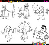 people occupations coloring page