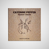Herbs and Spices Collection - Cayenne pepper