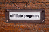 affiliate programs label