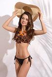 stunning girl in bikini