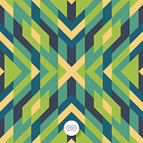 Seamless mosaic pattern. Geometric background.