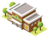 Vector supermarket