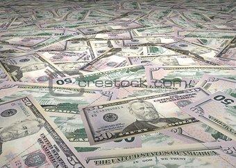 50 Dollar Bills