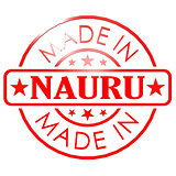 Made in Nauru red seal