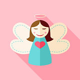 Girl cute angel