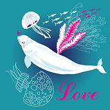 white whale in love