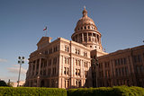Capital Building Austin Texas Government Building Blue Skies