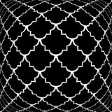 Design warped monochrome convex pattern