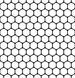 Hexagons pattern. Seamless  latticed texture.