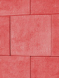 Red Block Wall