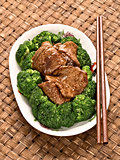 american chinese beef and broccoli