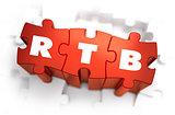 RTB - White Word on Red Puzzles.