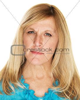 Annoyed Lady