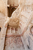 Sandstone Church Detail at Cappadocia