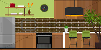 kitchen interior furniture house