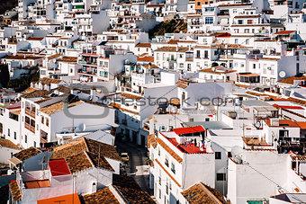 Charming little white village of Mijas