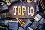 Top 10 Concept Rusty Type